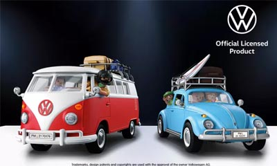 Win Playmobil Volkswagen bundle