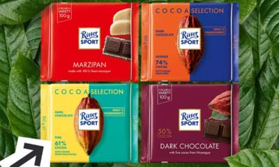 Free Ritter Sport Vegan Chocolate
