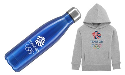 Free Team GB Water Bottle