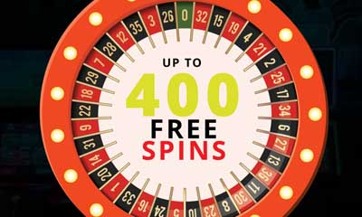 Up to 400 Free Spins